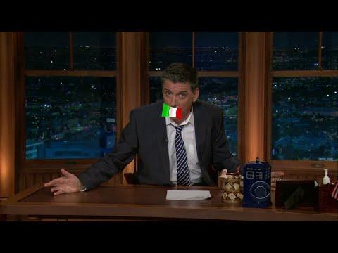 Late Late Show with Craig Ferguson 1/14/2011 Paul Giamatti, Piper Perabo