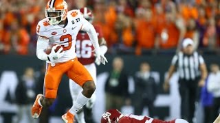 Artavis Scott (Clemson WR) vs Alabama 2016 Season