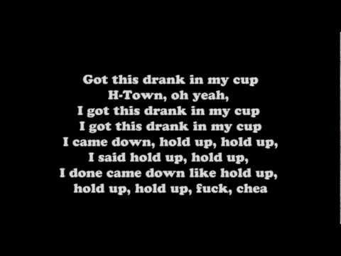 Kirko Bangz- Drank In My Cup(lyrics) video
