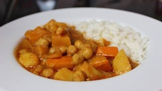 Kürbis Kichererbsen Curry ♥