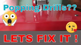 Diamond Painting Popping Drills. How To fix It. Part #2