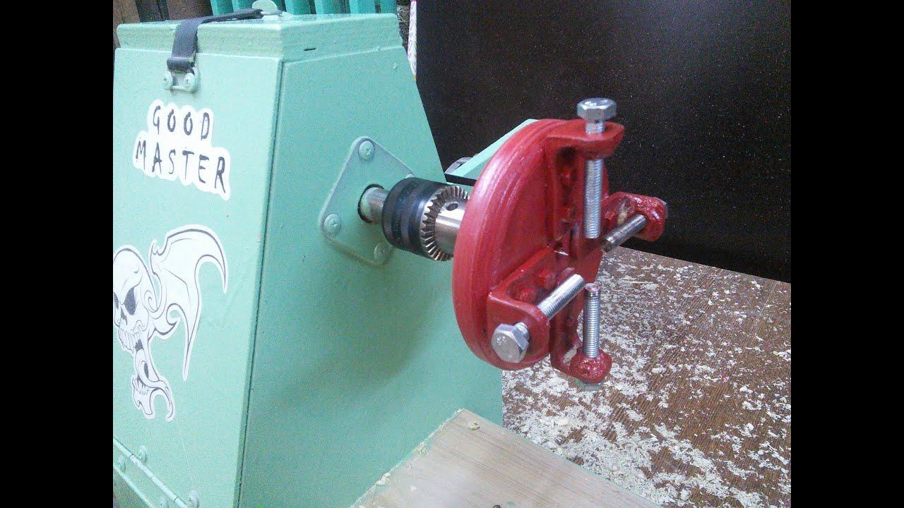 Как сделать патрон для токарного станка по дереву