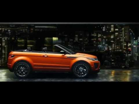 The New Range Rover Evoque Convertible   Land Rover USA
