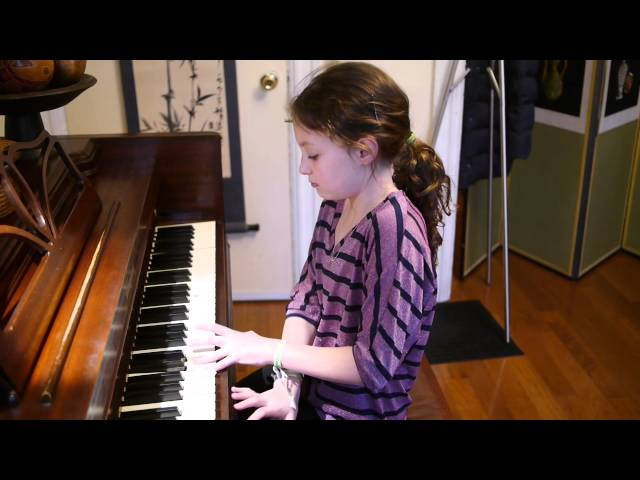 Antique Music Box, played by Katie (10) - piano recital