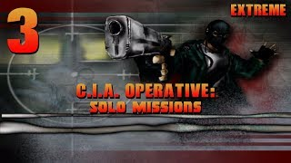 CIA Operative: Solo Missions - 1080p60 HD Walkthrough (Extreme) Mission 3 - Missile Facility