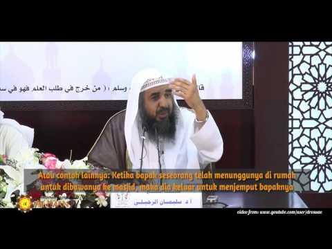 Tanya Jawab Agama: Apakah Hukum Keluar Masjid Setelah Kumandang Adzan ? Syaikh Sulaiman Ar Ruhalily