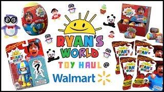Walmart Ryan's World Toy Haul