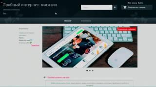 Начало создания Интернет-магазина (Начало + Первые шаги по созданию магазина)