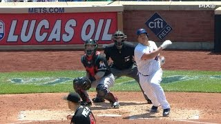 Colon drives in Recker with a double