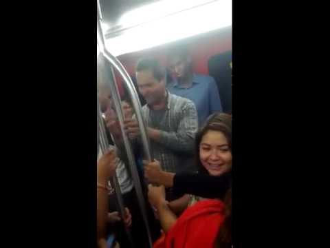 Nuevo entretenimiento en metro
