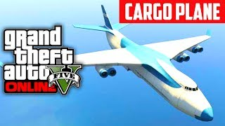 GTA 5 Online: How To Get The Cargo Plane Jumbo Jet (GTA V)