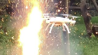 DRONE OVER 1000 SPARKLERS !