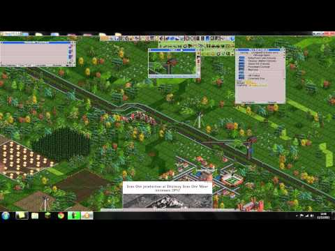 Transport Tycoon Beginner Guide: How To Make a Train Tystem
