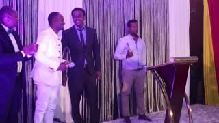 "Sami Dan ""Best Album"" acceptance speech at Addis Music Awards"