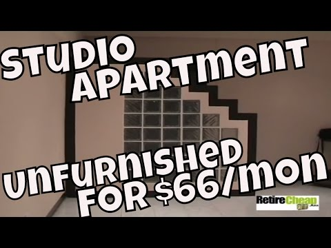 Cost of Rental Chiang Mai – Small Studio Apartment $66 a Month
