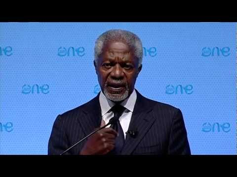 Kofi Annan at One Young World 2012, speech followed by Q&A.
