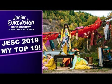 JUNIOR EUROVISION 2019 / MY TOP 19 (Before the show)