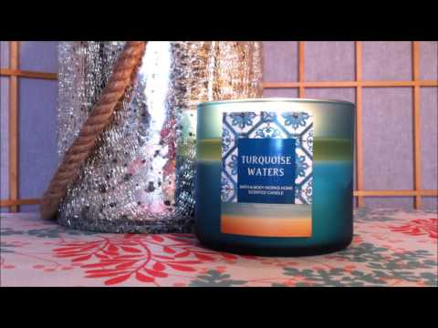 Bath And Body Works Candle Review: Turquoise Waters