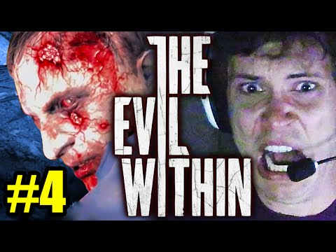 SCARIEST GAME EVER - Let's Play THE EVIL WITHIN #4