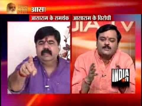 India Tv Exclusive Debate: Asaram's Sex Racket-1 video