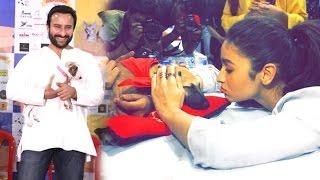 Bollywood Celebs Animal Adoption 2016 Full Video HD - Alia Bhatt,Saif & Soha Ali Khan,Kunal Khemu