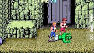 Arcade Co op Double Dragon