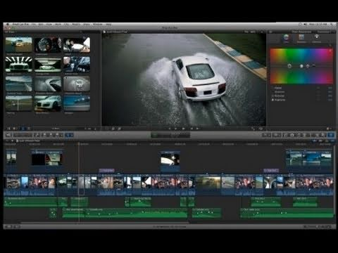 Final Cut Pro X - First Look