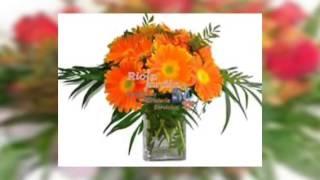 Decoración florales en jarrones