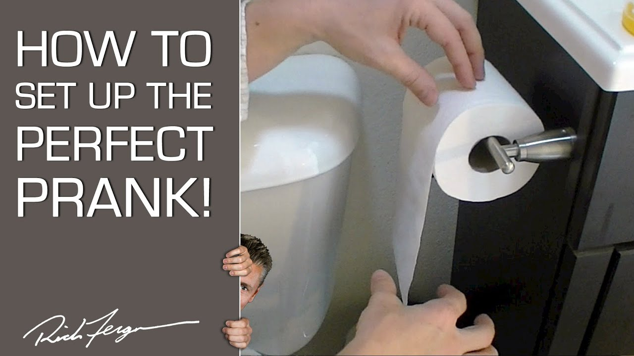 Easy bathroom pranks