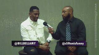 Hanging With Cliff Bill Bellamy Interview FOR AIR W BROLL