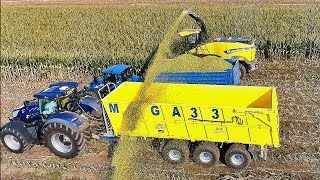 NEW HOLLAND  TEST SILAGE  South Moravia Uherčice FR 780, T7.315, T5.120