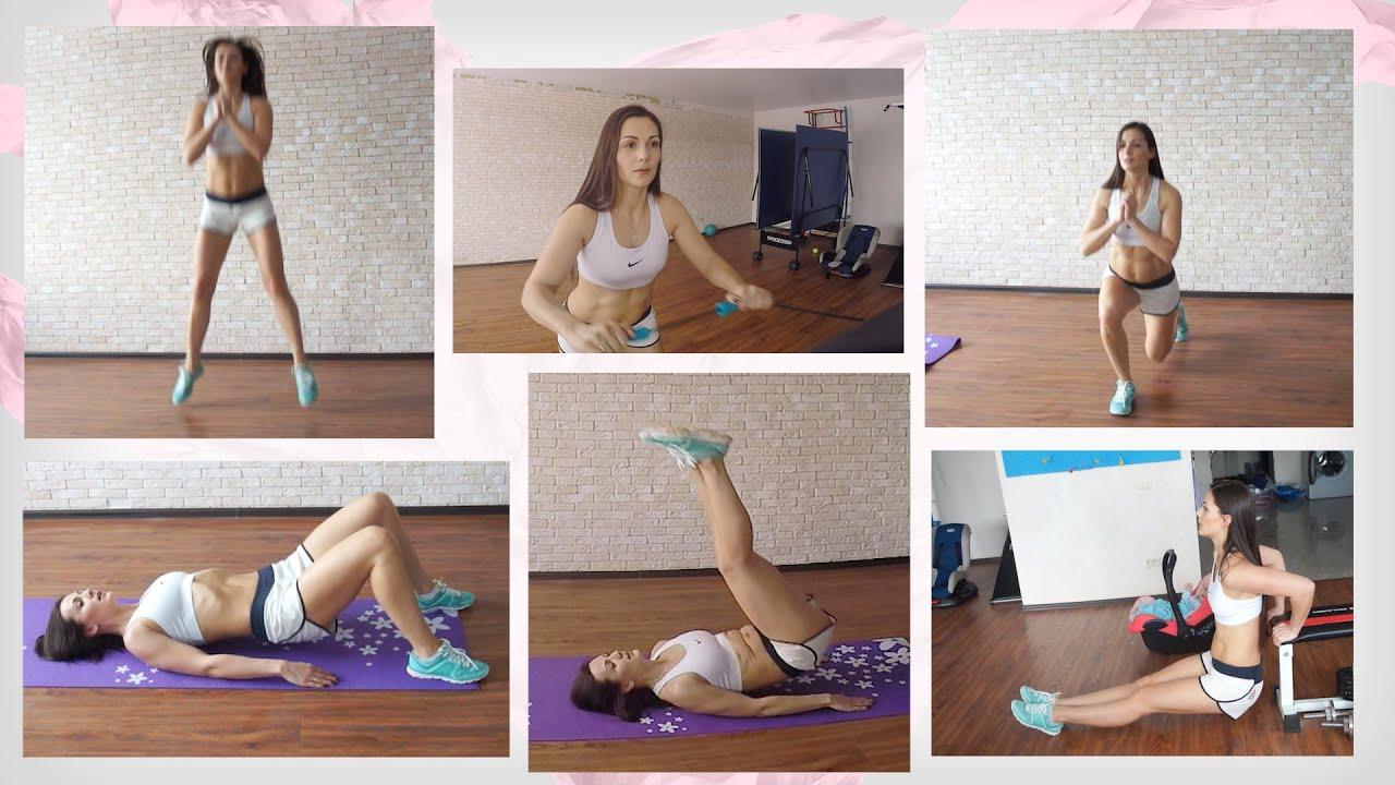 Упражнения для похудения в домашних условиях за неделю фото 464