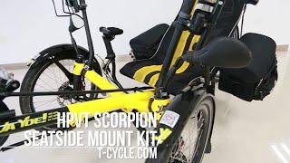 Terra Cycle - HPVT Scorpion SeatSide Mount Kit (Back Of Seat)