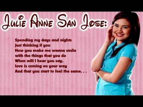 I'll Be There - Julie Anne San Jose | Lyrics video