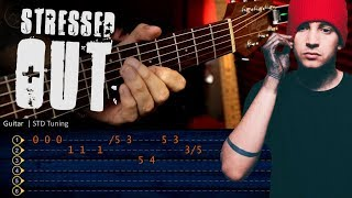Stressed Out - Twenty One Pilots Guitar Tutorial TABS | Cover Christianvib