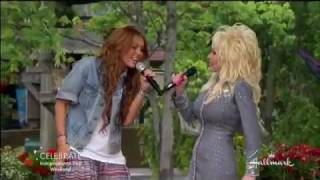 Miley Cyrus And Dolly Parton Singing 39 Jolene 39