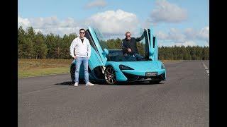 Markku Alén & McLaren 570S Spider (Teknavi 2018)