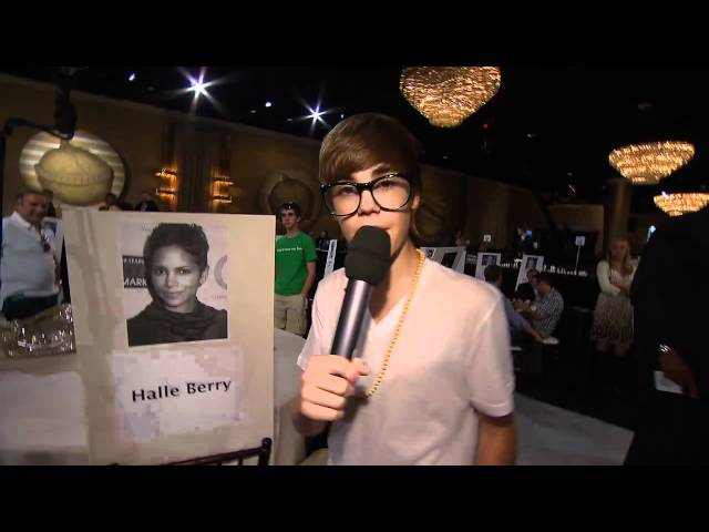 68th Annual Golden Globe Awards: At the rehearsal with Justin Bieber