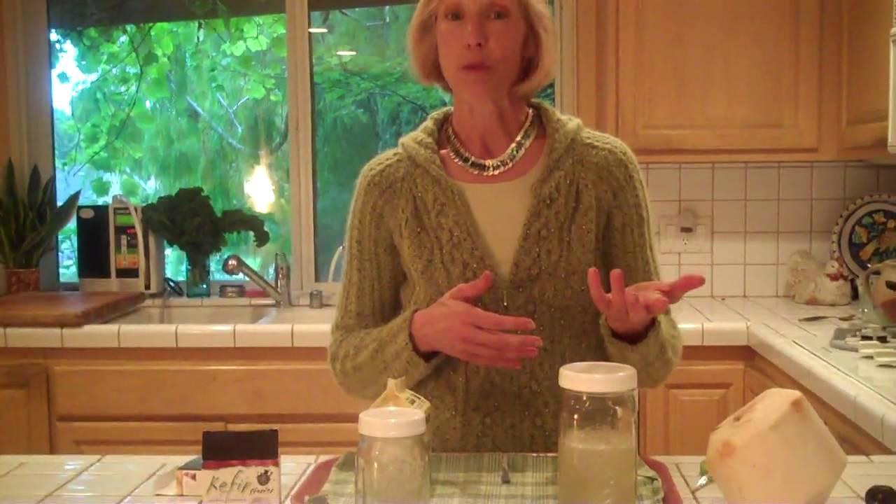 how to make kefir cream