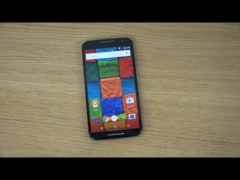 Motorola Moto X 2014 Android 5.0 Lollipop - Review (4K)