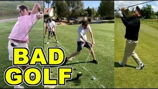 Bad Golf Shots | Bad Golf Swings