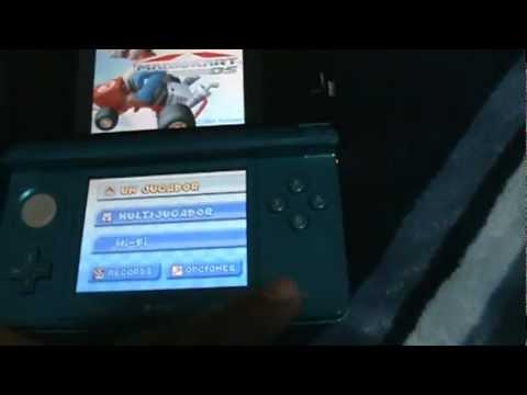 Nintendo 3DS con Chip R4 y colección de Juegos NDS y NDSi