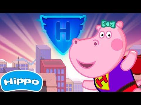 Гиппо 🌼 Дети Cупергерои бесплатно 🌼Мультик игра для детей (Hippo)