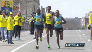 Lelisa Desisa wins men's race at 2013 Boston Marathon - Universal Sports