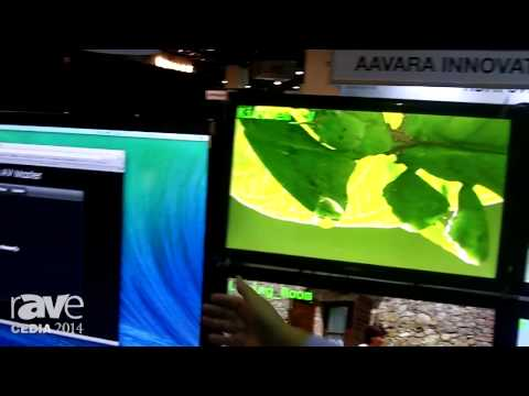 CEDIA 2014: Aavara Demos HDMI Over IP Solution, AV Master Interface With Multicasting