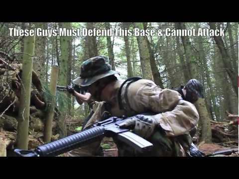 Airsoft War L86 M16 M4 Section8 Scotland HD