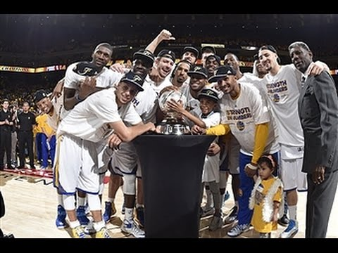 Warriors Crowned 2014-2015 NBA Western Conference Champions