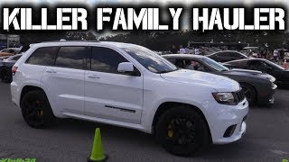 Modded Jeep TrackHawk Shocks Competition in Half Mile