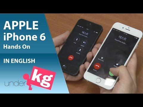 [Exclusive] Apple iPhone 6 Hands on [4K]