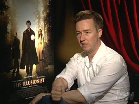Edward Norton Illusionist interview